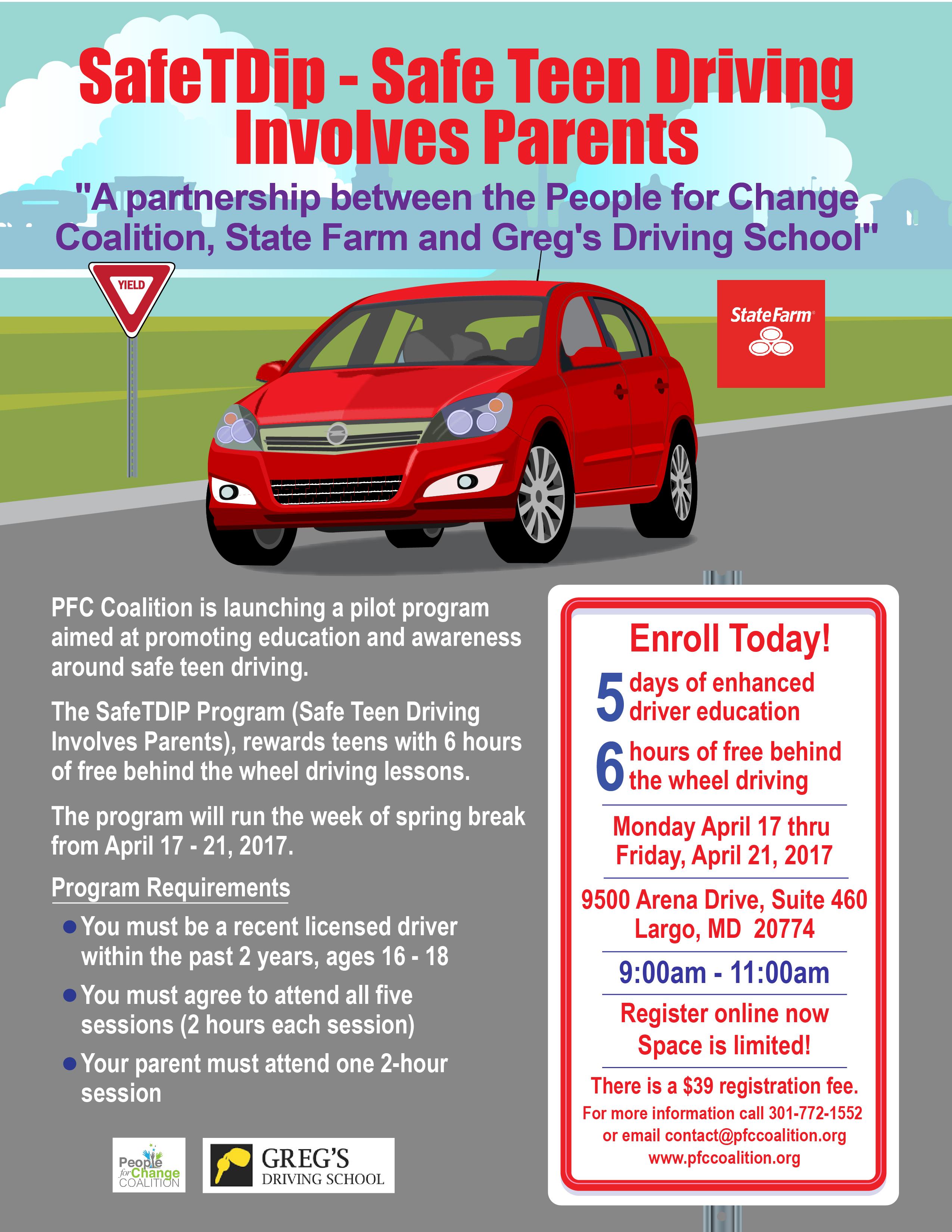 Safe Teen Driving Program During 14